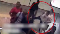 مسافر مترو به طرز ماهرانهای دزد فراری را گیر انداخت