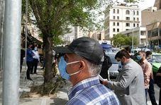 تجمع سهامداران مقابل بورس تهران