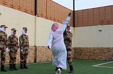 تمرین نظامی عجیب افسران زن ارتش عربستان که سوژه تمسخر رسانههای جهان شد