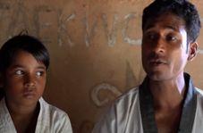 تدبیر تحسینبرانگیز مرد روهینگیایی برای دفاع از خانوادهاش!