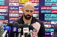 نشست خبری حمید عبداللهی مربی تراکتور