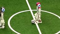 رقابت رباتهای فوتبالیست در چین