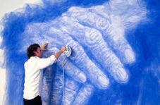 خلاقیت متفاوت یک هنرمند در خلق آثار پرتره!
