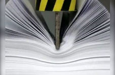 قدرت کاغذ A4 بیشتر از دستگاه پرس 10 تنی!