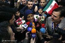 صحبتهای مرضیه هاشمی پس از بازگشت به ایران