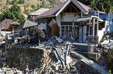 فرو ریختن هتلی پس از زمین لرزه اندونزی!