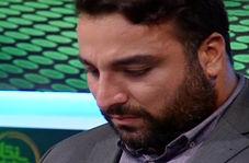 اشکهای قهرمان پرتاب دیسک ایران در برنامه زنده!