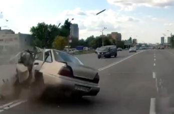 تصادف شاخ به شاخ وحشتناک، عاقبت مصرف مواد مخدر قبل از رانندگی
