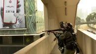 لحظه کور شدن خبرنگار اندونزیایی در هنگ کنگ