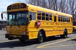 اقدام جالب رانندگان در مقابل اتوبوس مدرسه!