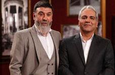 اشک های علی انصاریان در برنامه مهران مدیری