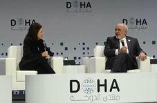 واکنش جالب ظریف به سوالی درباره ادعای دخالت ایران در منطقه