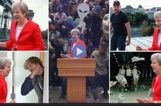 رقص نخست وزیر انگلیس مورد تمسخر کاربران قرار گرفت!