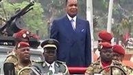 روش عجیب بادیگاردها برای حفاظت از رئیس جمهور کنگو!