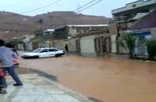 خیابانهای اهواز در آب غرق شد