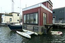 راهکار هلندی ها برای افزایش تعداد خانه ها در روی رودخانه ها