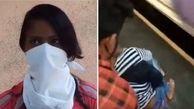 خوش شانسی محض دختر نوجوان در سقوط از قطار تندرو!