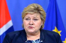 نخست وزیر نروژ با تانک ببر ۲ به رزمایش ناتو آمد