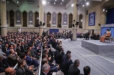 رهبر انقلاب: در عرصههای سیاسی، امنیتی و نظامی دشمن را عقب زدیم