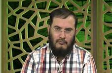 سوتی عجیب مجری شبکه وهابی روی آنتن زنده
