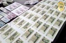 این اسکناس ها جعلی و کشف پلیس آگاهی تهران است!