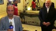 پشت صحنه گزارش نجفزاده از سازمان ملل با حضور ظریف