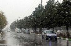 بارش شدید برف در تبریز و ارومیه