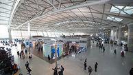 مسافر عصبانی فرودگاه را به هم ریخت