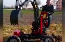 ماشین کشاورزی قدرتمندی که یک غول همه کاره است!