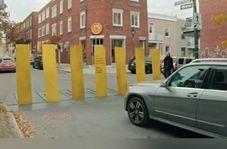 راه حلی جالب برای تذکر به رانندههایی که به خطوط عابر پیاده بی توجه هستند + فیلم