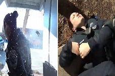 شلیک مامور پلیس آمریکایی به همکار خود