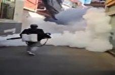 ضدعفونی کردن زادگاه کرونا با امکانات ویژه