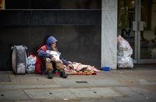 بیخانمانهای انگلیسی در چند متری ساختمان BBC