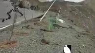 فوری/ رانش هولناک زمین در آبیدر سنندج