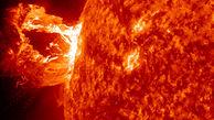 فوران خورشیدی از دید رصدخانه دینامیک فوق پیشرفته
