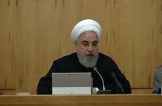 روحانی: آشوب طلبان سازمان یافته، مجری برنامه مثلث دشمنی علیه ایران