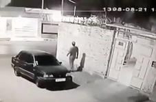 سرقت پراید تنها در ۲۰ ثانیه!