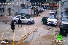 آموزش پارک کردن خودرو توسط پدر چینی فاجعه آفرید