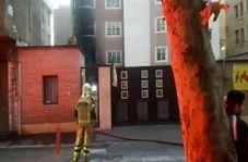 آتشسوزی مدرسه استثنایی در نارمک