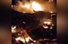 تصاویر اولیه پس از حمله متجاوزانه نیروهای آمریکایی به مواضع حشدالشعبی