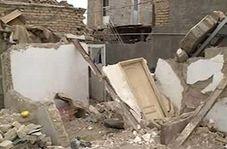 تخریب مرگبار یک خانه در رباط کریم بر اثر انفجار گاز