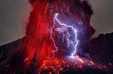 فعال شدن آتشفشانی خطرناک در مکزیک + فیلم