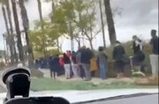 روایت ایرانی از هجوم آمریکایی به مراکز خرید از ترس کرونا!