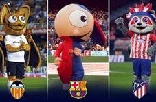 20 نماد عروسکی معروف در باشگاههای اسپانیا
