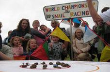 مسابقه دو ۲۰۰ حلزون در بریتانیا!