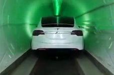 تونلی در عمق 9 متری زمین برای حمل و نقل فوق سریع