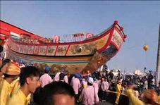 جشنواره قایقهای سوزان در تایوان
