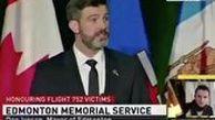 ابراز همدردی شهردار ادمونتون کانادا با بازماندگان سانحه هواپیمای اوکراینی به زبان فارسی