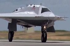 مدرنترین پهپاد فوق سنگین روسیه که بدون سرنشینهای آمریکا را مغلوب میکند+ فیلم