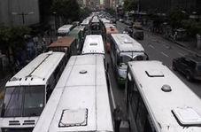 مخالفت رانندگان با سهمیه بندی سوخت در ونزوئلا